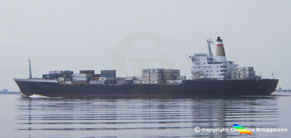 Hapag-Llloyd Containerschiff der 2. Generation SYDNEY EXPRESS 1983