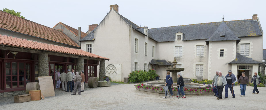Cour intérieure du musée   Visite groupe Musée des Métiers
