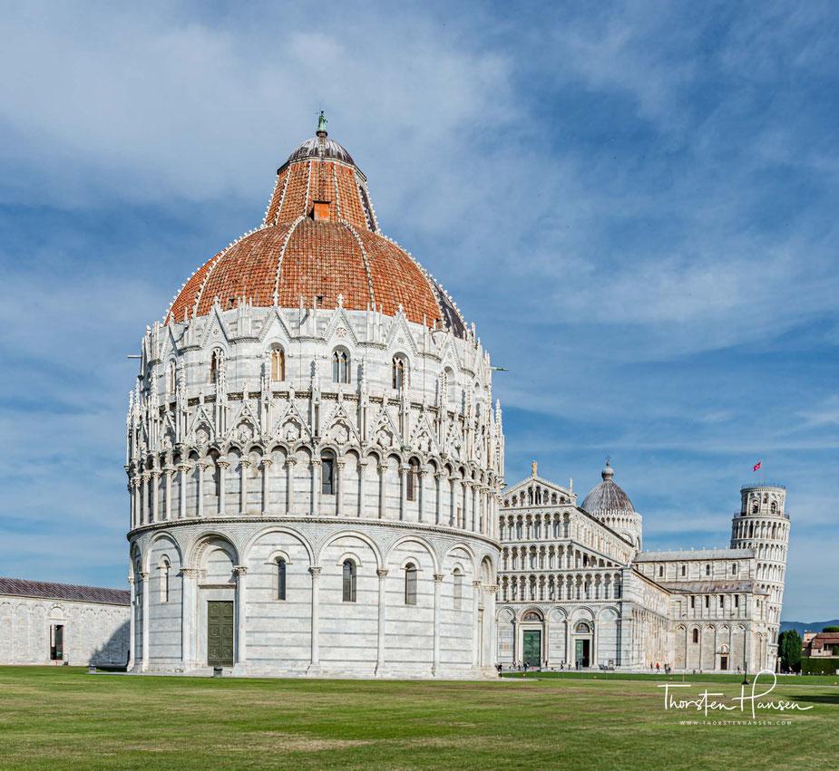 Mit dem Reiseleiter Thorsten Hansen unterwegs in der Toskana, Pisa, Florenz