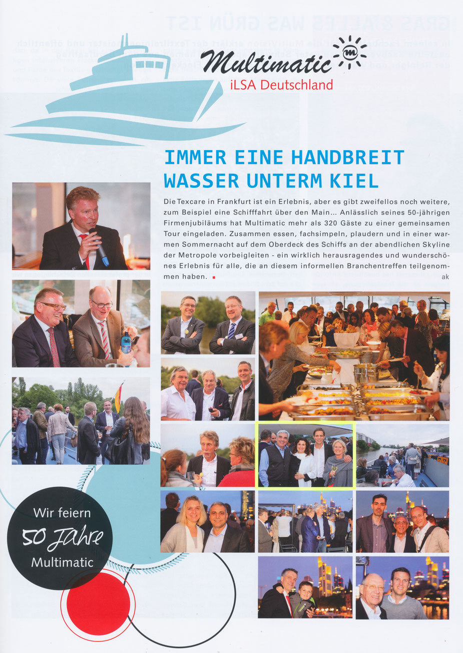BLOG, Pressebericht Multimatic Bericht Wasser unterm Kiel 2015.05