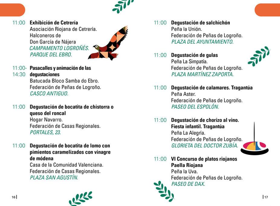 Programa de san Benarbe en Logroño