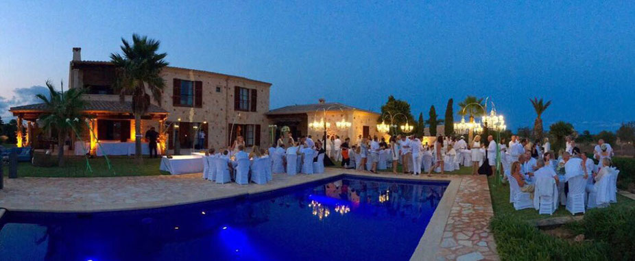 Catering, Hochzeit, Paella, Finca Dinner, Private Cooking, Privatkoch, Amano Ses Salines Mallorca