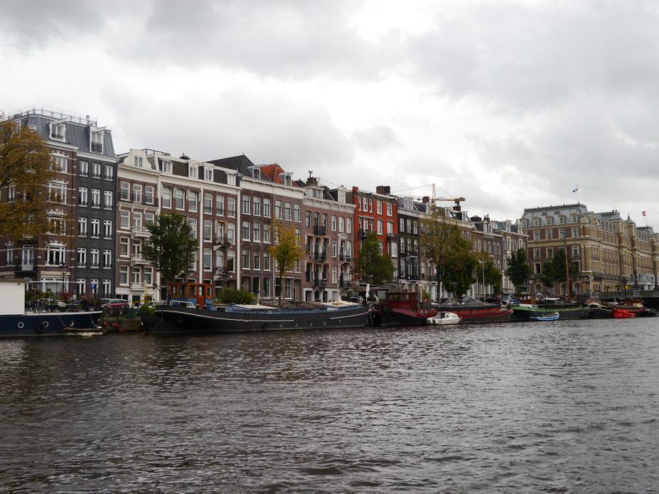 Bootsfahrt auf der Amstel