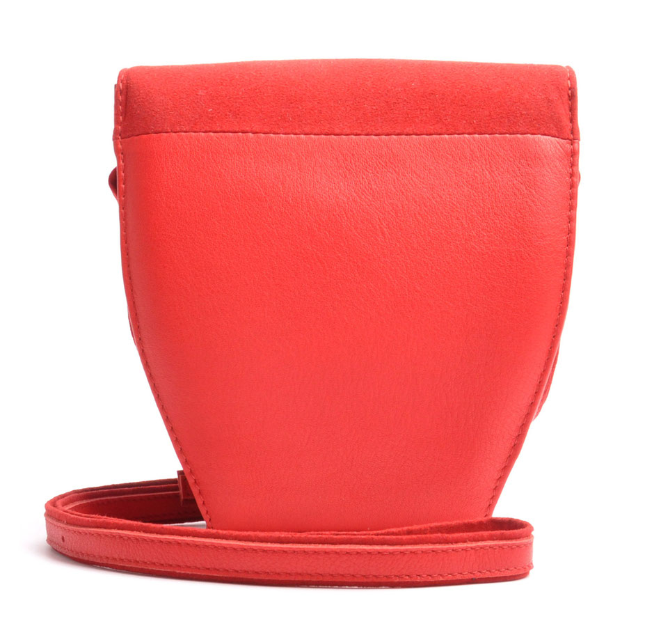 Dirndltasche MARLA rot mit  Stickerei OSTWALD Traditional Craft