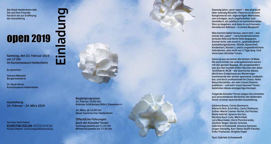 OPEN 2019 Kunstmuseum Heidenheim