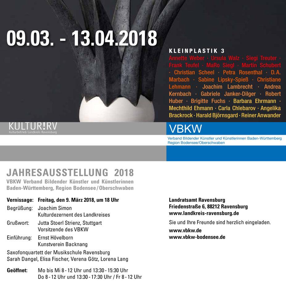 Carla Chlebarov - VBKW JAHRESAUSSTELLUNG 2018