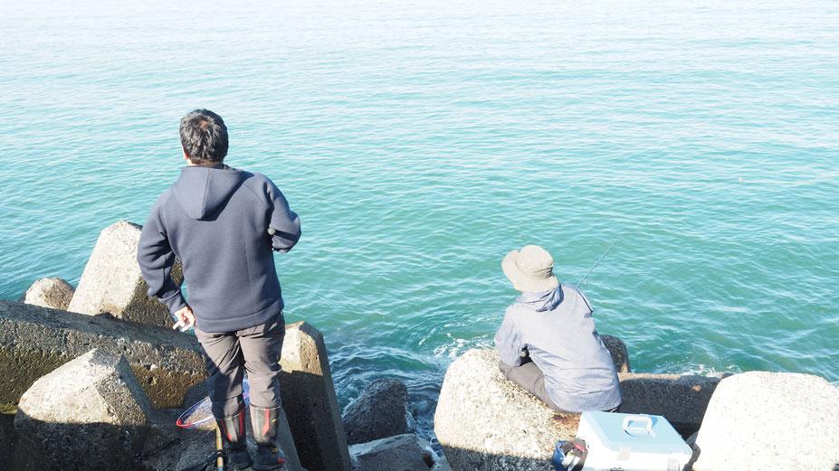 スタッフブログ 鮭釣り(釣り場の風景)