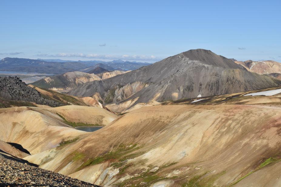Bláhnjúkur, Laugavegur, Fjallabak - day hikes from Landmannalaugar