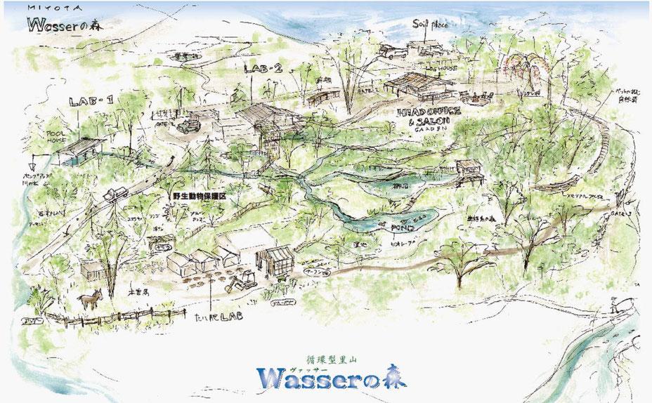 Wasserの森 Landscape Vision