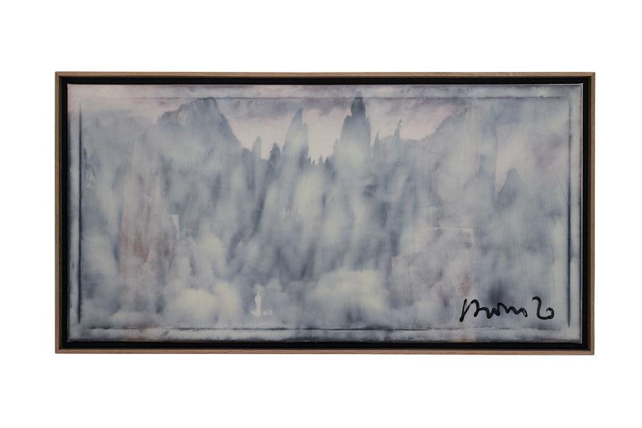 """""""Undine 1+2"""", je. 119x96cm, Acryl auf Leinwand, 1999"""