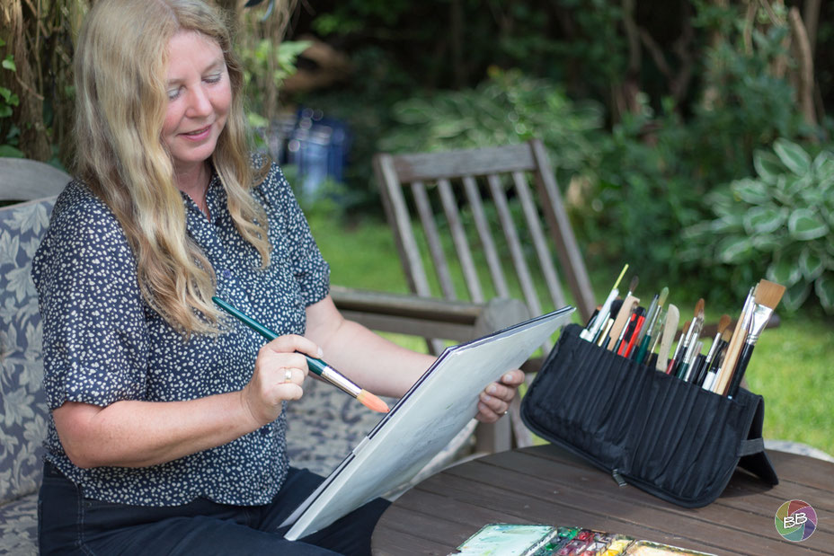 Kerstin Evers - die Aquarellmalerin aus Mühlenbeck