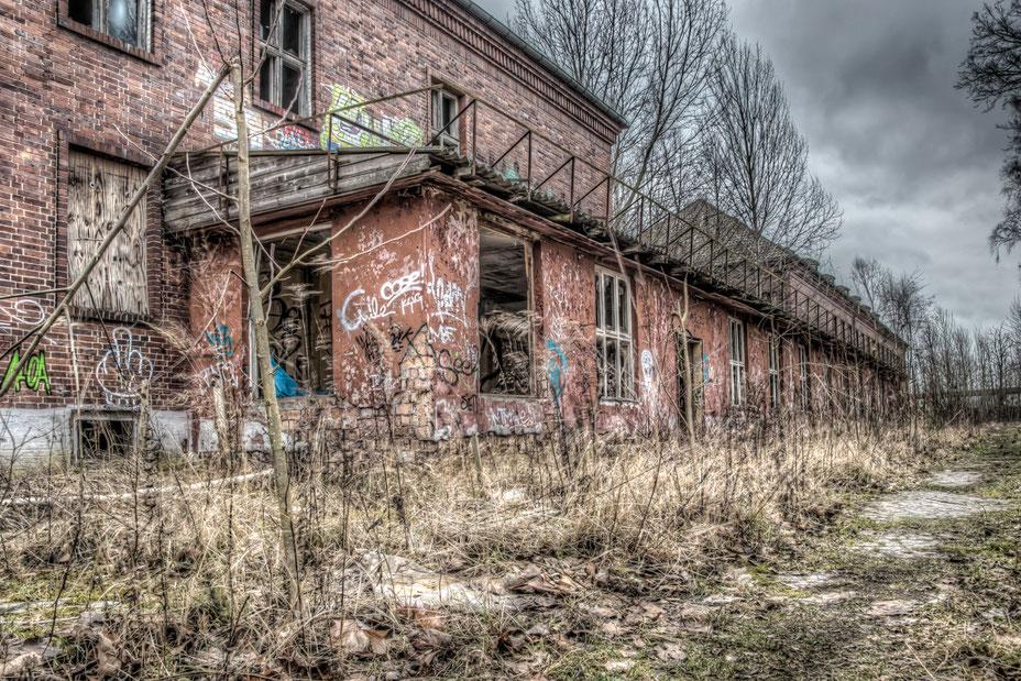 Gebäude des ehemaligen Heeresbekleidungsamtes der Wehrmacht