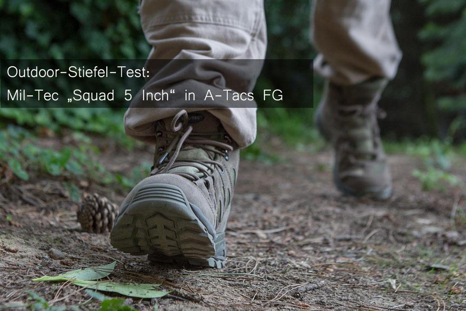 In Preis und Leistung voll im Soll - der Mil-Tec Squad 5 Inch Outdoor-Stiefel. Credit: deutzmann.net