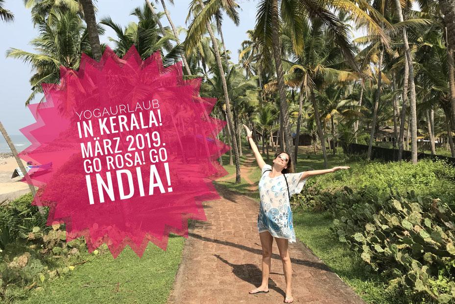 Yogaurlaub in Varkala, Kerala, Südindien