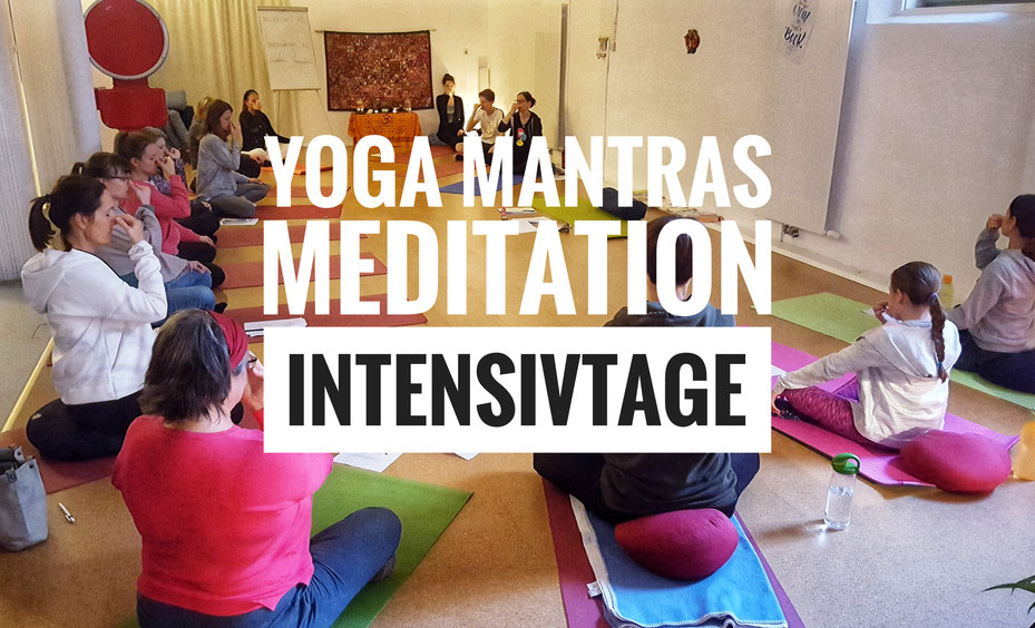 Yoga & Mantras & Meditation Intensiv Kurs mit Regina Potocnik im Amazing Yoga Vienna