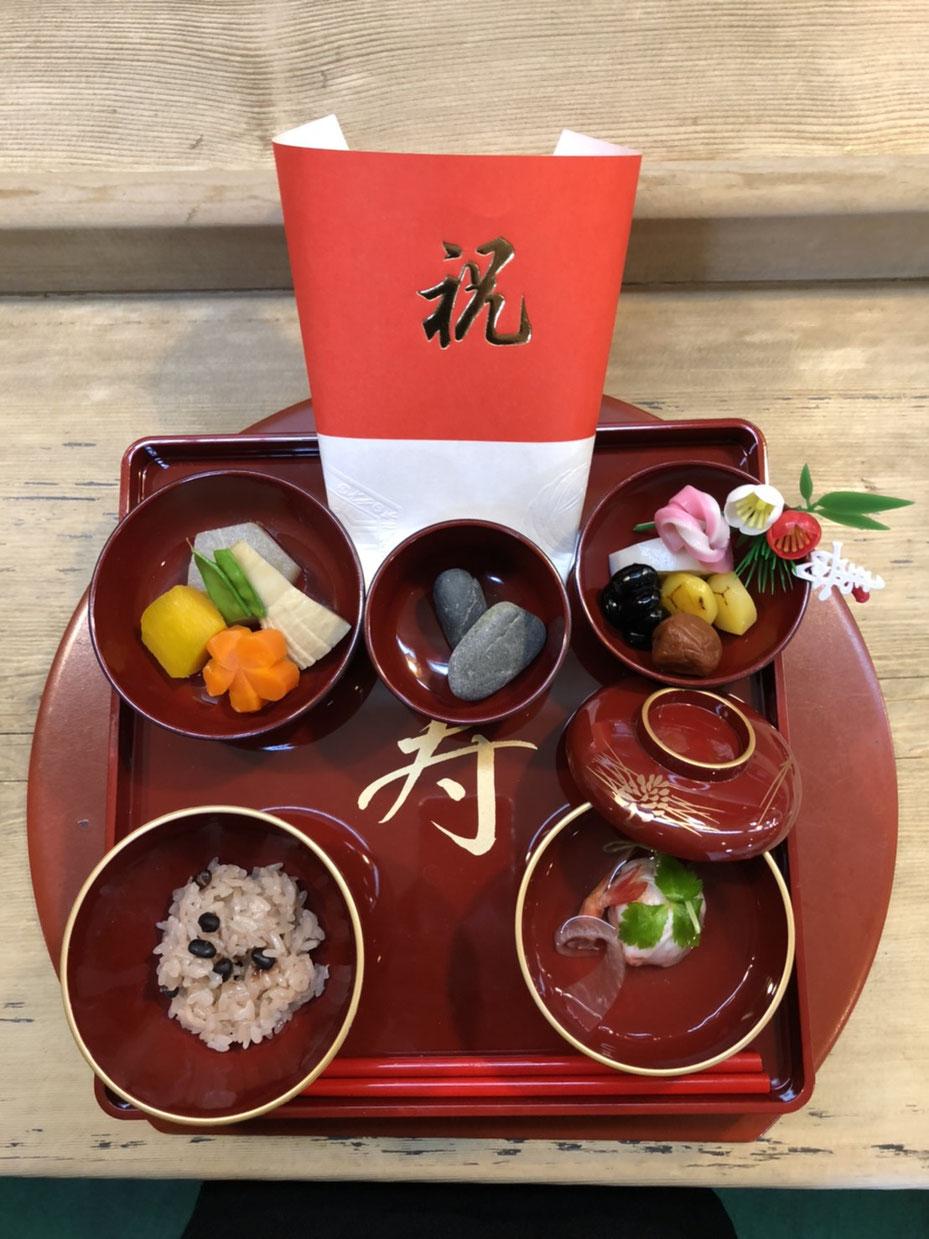 北海道 江別市 やま六鮨 お食い初め 100日祝い 百日祝い