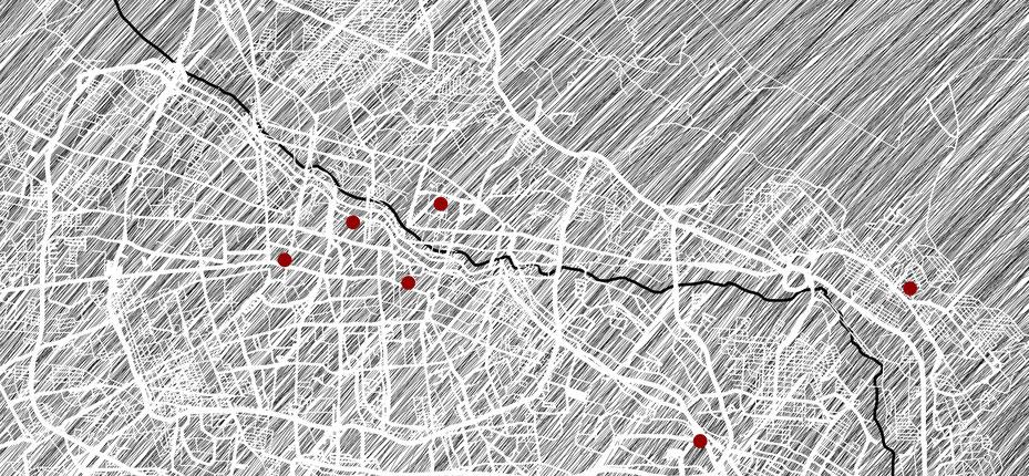 Stadtkarte Täbriz, Iran