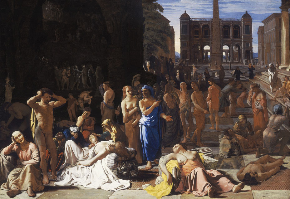 La peste de Atenas (1652), por Michael Sweerts.