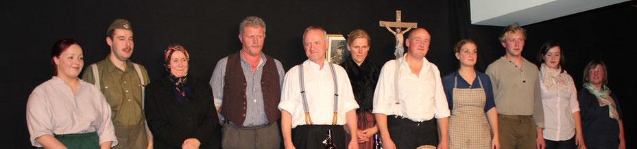 Irschenberger Theater mit der Familie Grundbacher