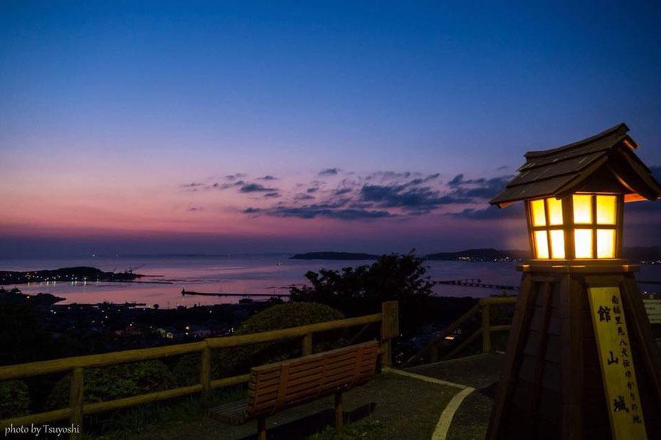 館山城・館山公園展望台からの景色/PhotoByTsuyoshiArai