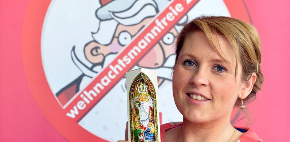"""Maite Kelly - langjährige Unterstützerin der """"Weihnachtsmannfreien Zone""""  © Schulze"""