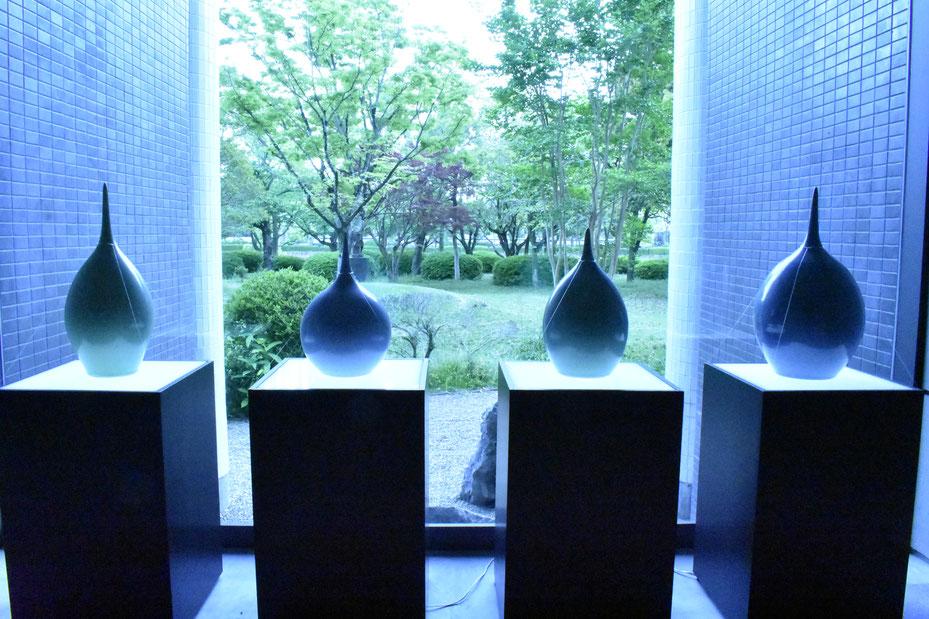 追悼 人間国宝 中島宏展-永遠の青磁-