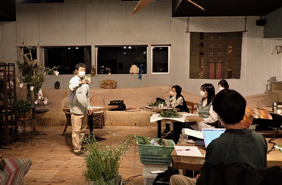 無農薬の野菜作り教室・さとやま農学校@国分寺カフェスロー