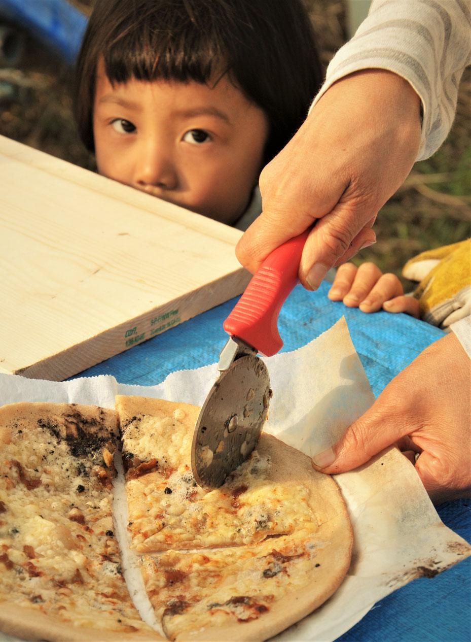 石窯ピザ焼き体験 体験農場神奈川