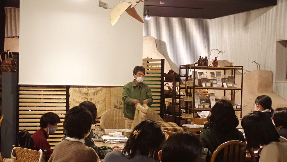 無農薬の野菜作りを東京で「さとやま農学校@国分寺カフェスロー」