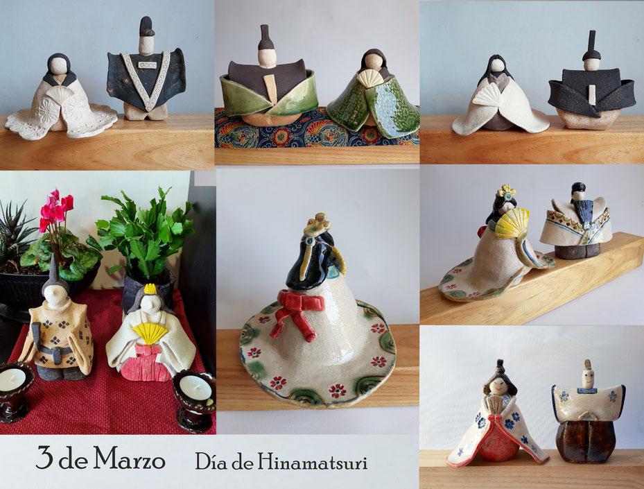 Ceramica Japonesa  en Málaga Hinamatsuri