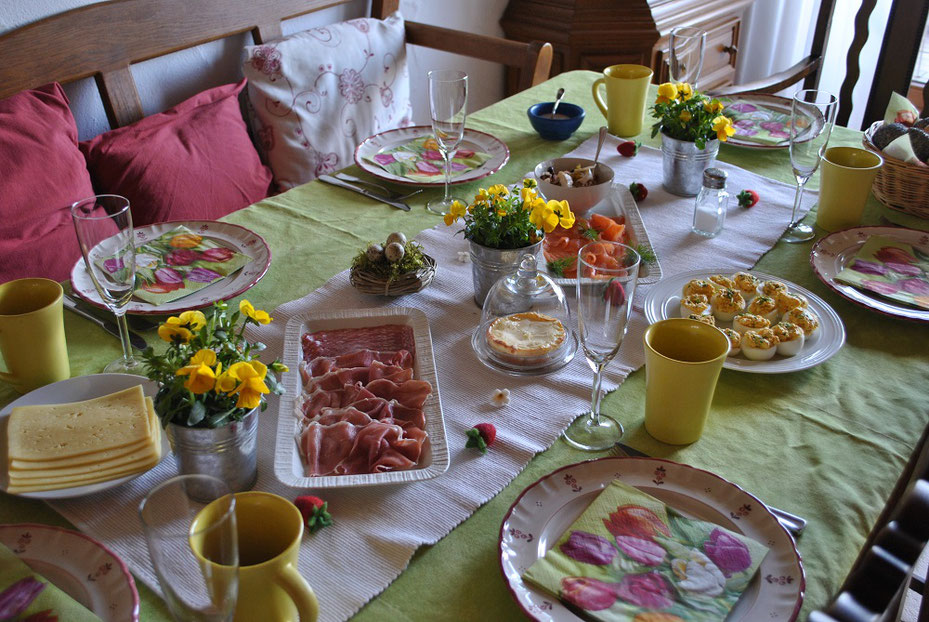 Osterfest Ostern Brunch