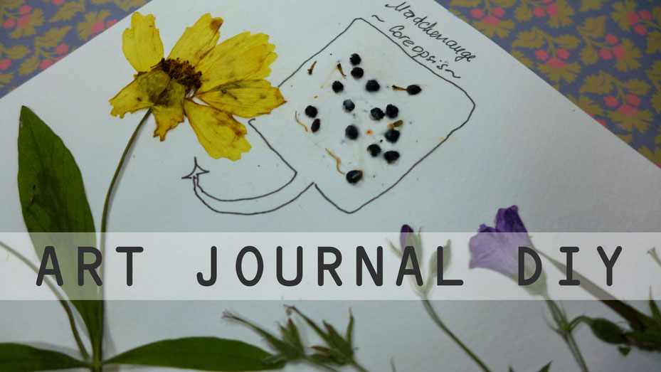 Art Journal - Mein Gartenjahr - September - DIY-Projekt
