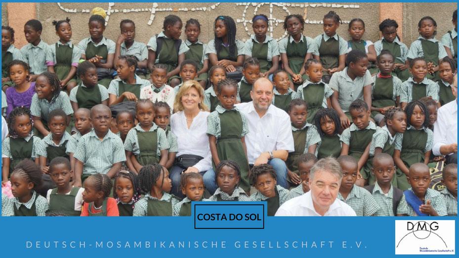 Vorschulkindergarten in Mosambik helfen