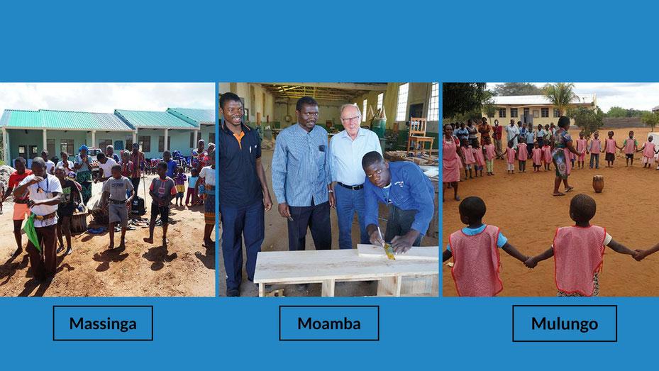 Handwerkschule und Internat in Mosambik helfen