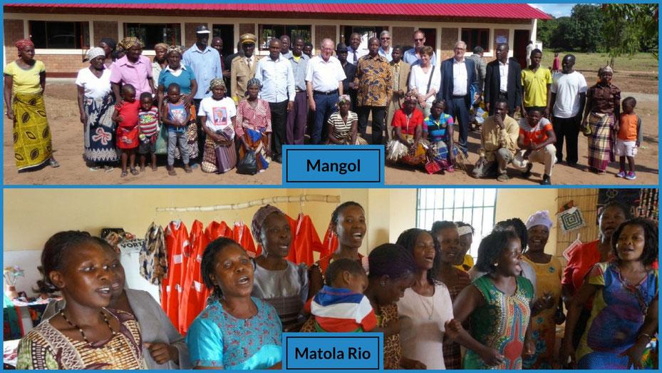 Schule in Mangol (Mosambik)