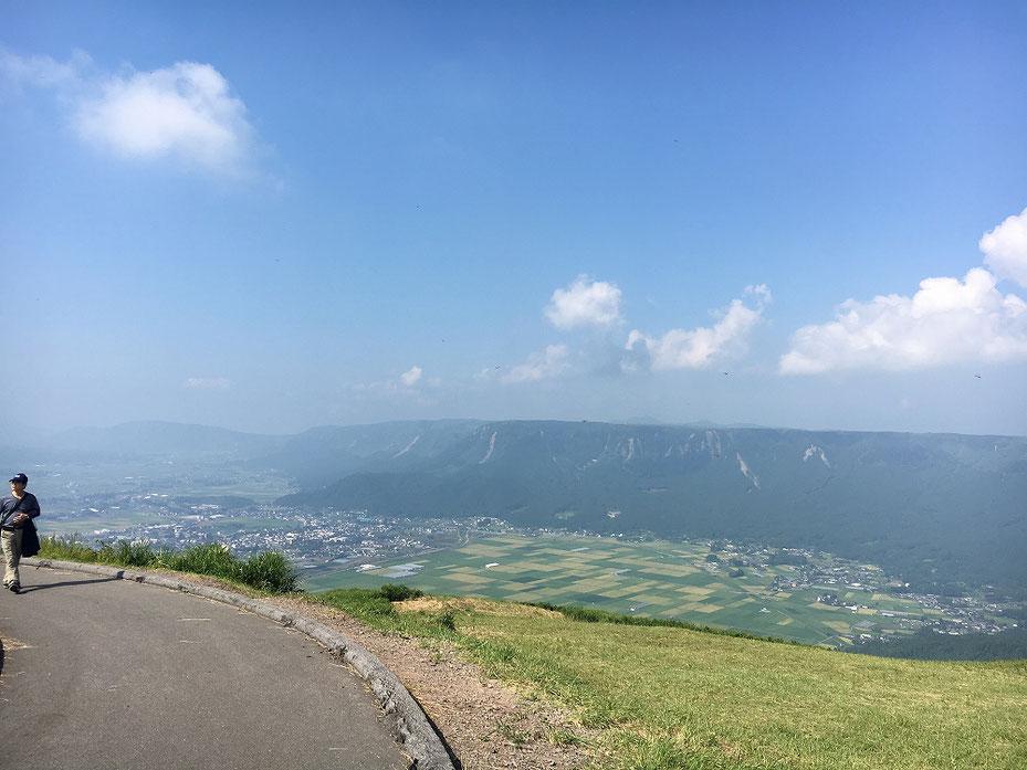 阿蘇山大観峰からの眺め その2