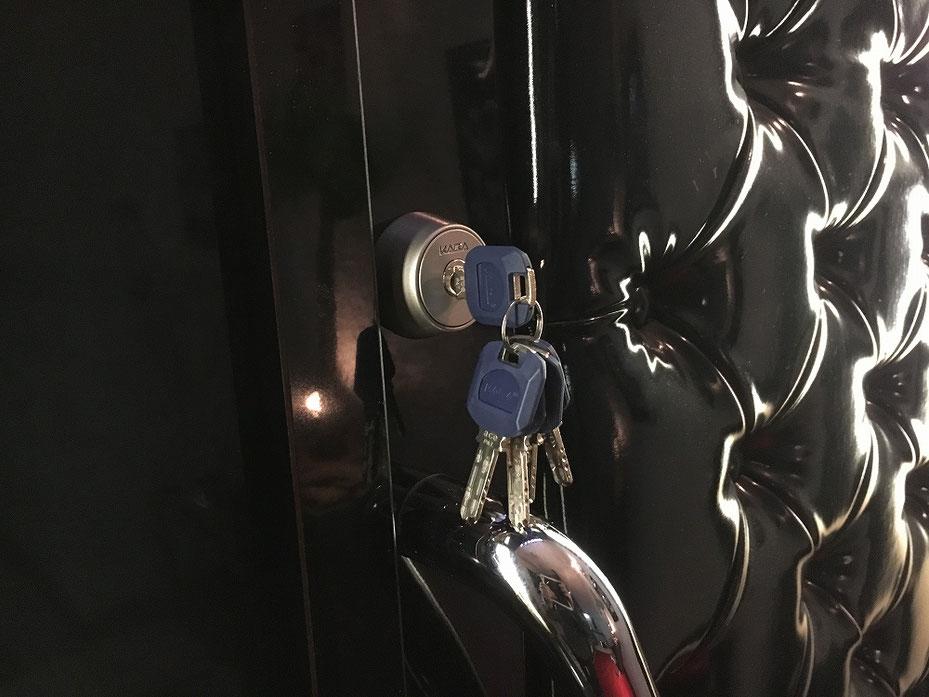鍵穴の写真