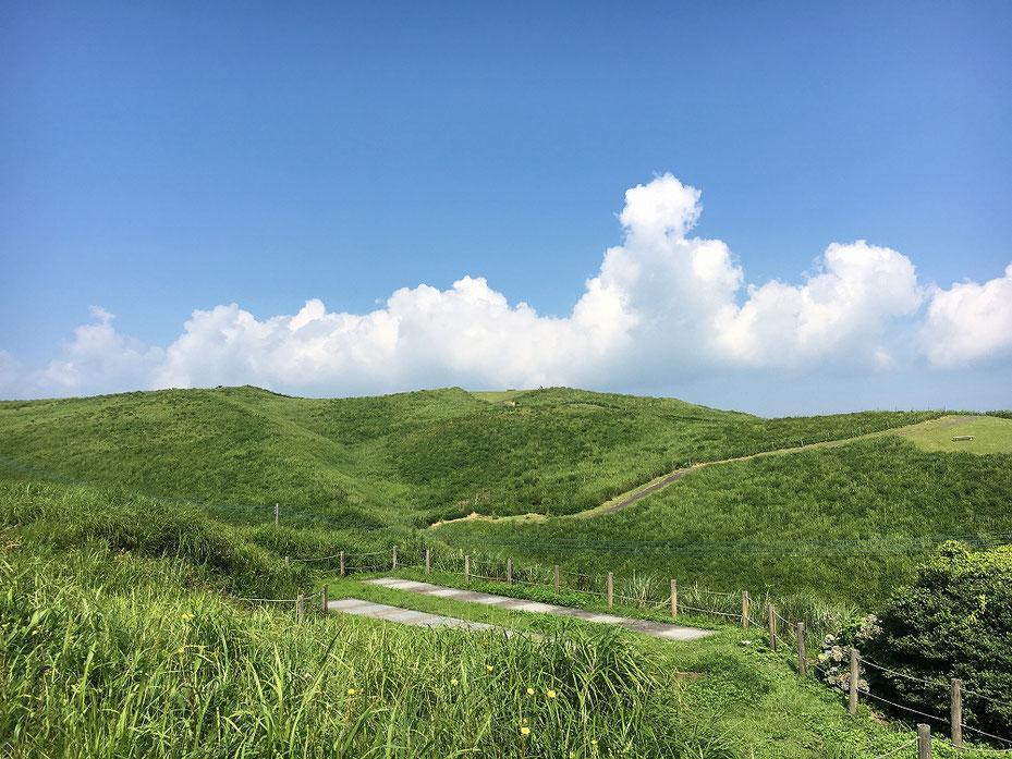 阿蘇山大観峰からの眺め1