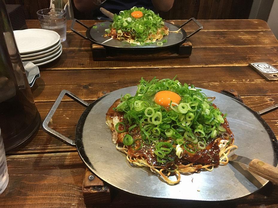 広島で食べたお好み焼き