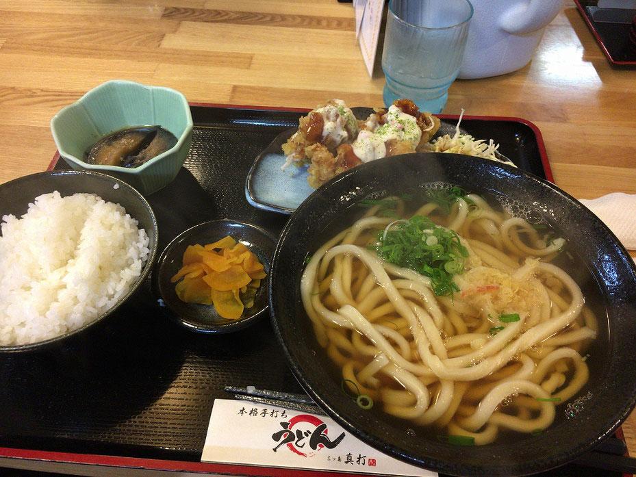 大阪で食べたうどん