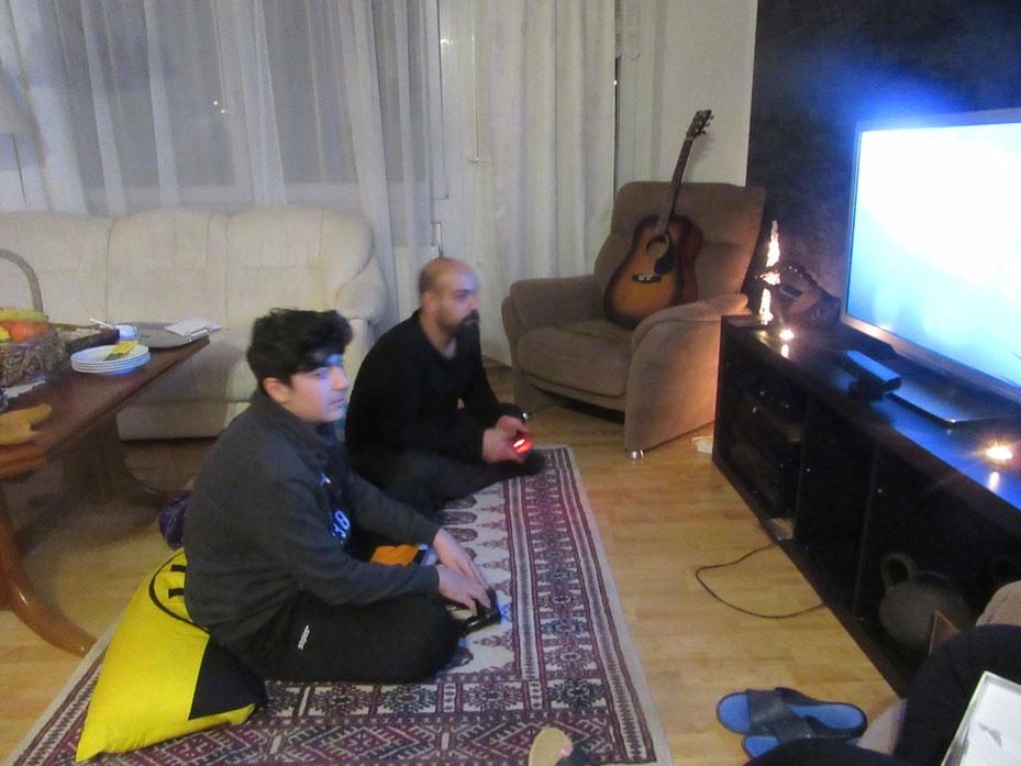 Amir und Su.