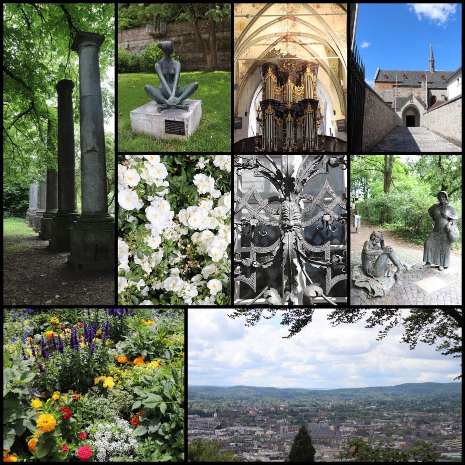 Impressionen von der Kurzreise nach Aachen und Umgebung, aufgenommen mit einer CANON EOS 77D