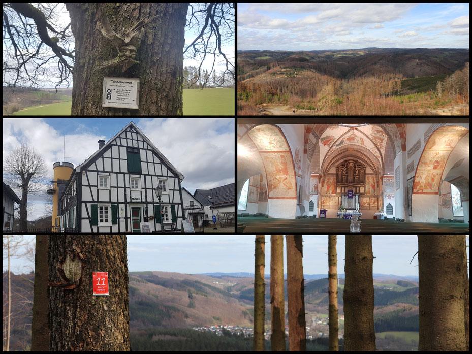 """""""Bonte Kerken"""", Talsperren und Aussichten weit in das Bergische Land: willkommen in der Region Bergneustadt"""
