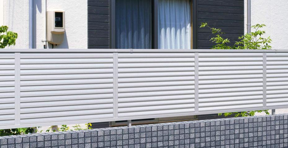 アルミ形材フェンス 三協アルミ カムフィX 9型