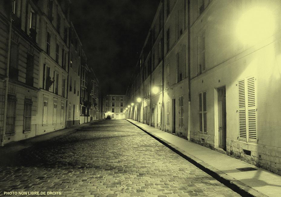 Les pavés de Paris, photo non libre de droits