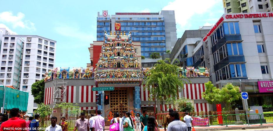 Little India, Singapour, photo non libre de droits.