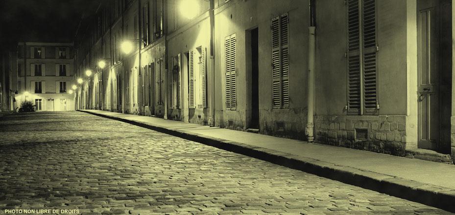 Pavés d'enfer, Paris, photo non libre de droits