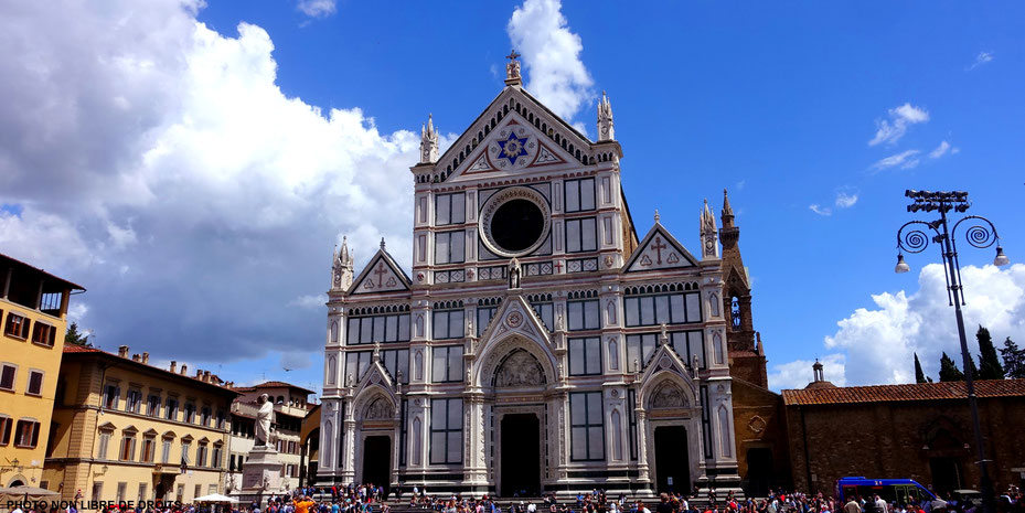 Basilica Di Santa Croce, Florence, photo non libre de droits