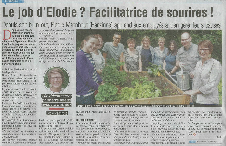 Article La Nouvelle Gazette - partie 1
