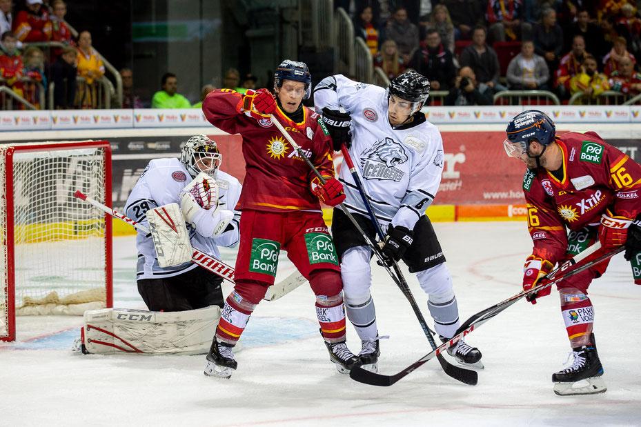 Foto: Thomas Hahn | Junge Spieler mit mehr Eiszeit.